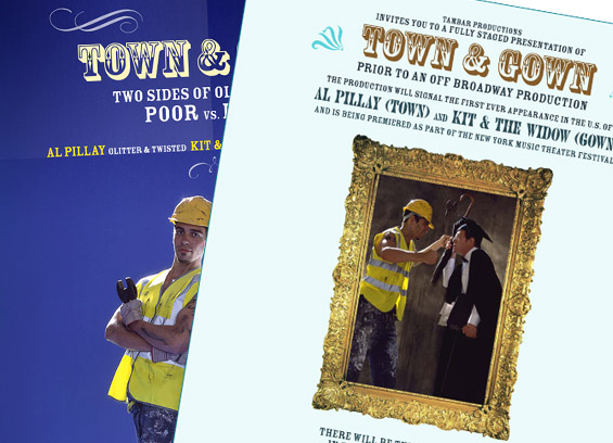 town and gown poster